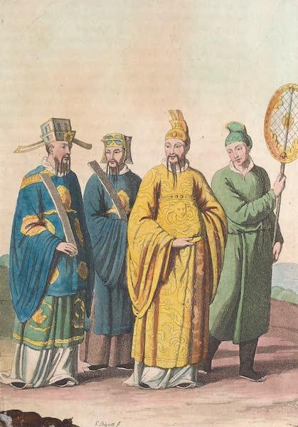 Le Costume Ancien et Moderne [Asie] Vol. 1 - Empereurs et mandarins avec leur ancien habillement (1815)