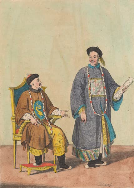 Le Costume Ancien et Moderne [Asie] Vol. 1 - Empereurs tartaro-chinois et mandarins (1815)