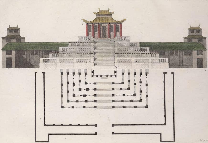 Le Costume Ancien et Moderne [Asie] Vol. 1 - Exterieur de la salle de trone (1815)