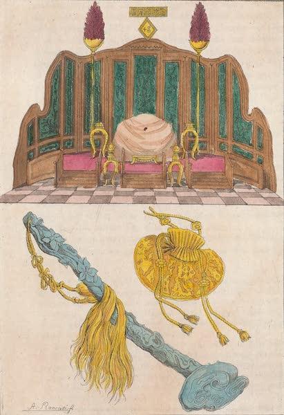 Le Costume Ancien et Moderne [Asie] Vol. 1 - Trone, Yu-Y ou sceptre etc (1815)
