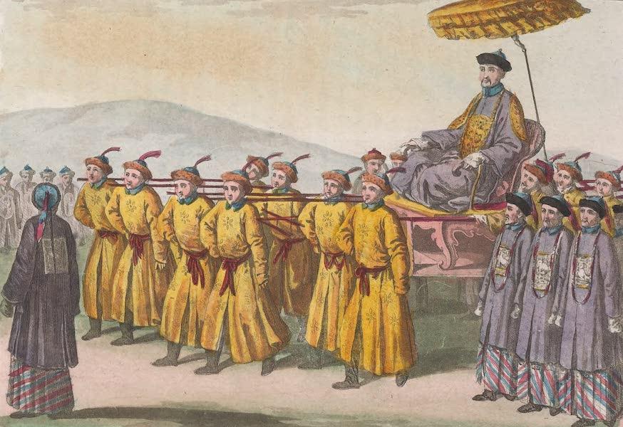 Le Costume Ancien et Moderne [Asie] Vol. 1 - L'Empereur Kien-Lung porte en triomphe (1815)