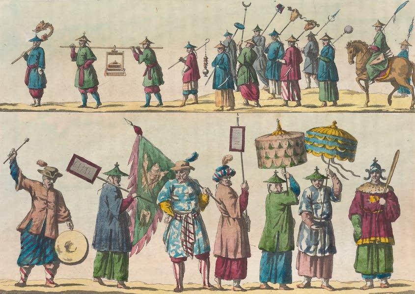 Le Costume Ancien et Moderne [Asie] Vol. 1 - Principaux personnages composant le cortege etc (1815)