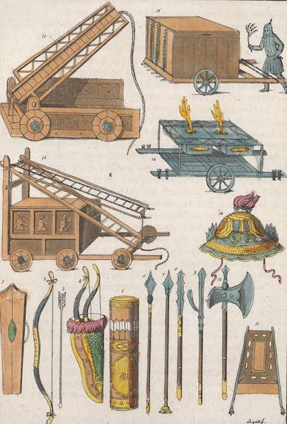 Le Costume Ancien et Moderne [Asie] Vol. 1 - Anciennes armes de Chinois (1815)