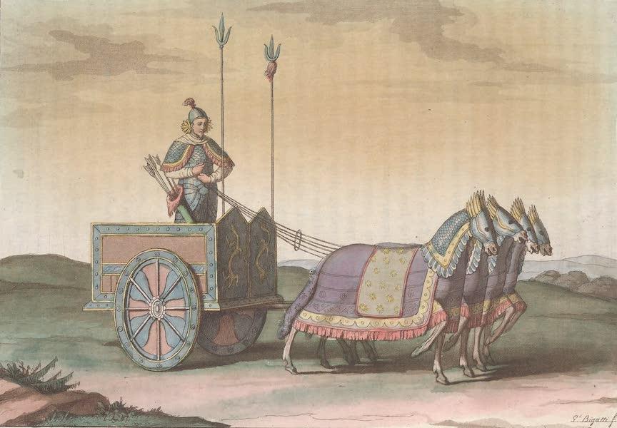 Le Costume Ancien et Moderne [Asie] Vol. 1 - Char de guerre (1815)