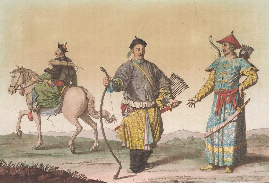 Le Costume Ancien et Moderne [Asie] Vol. 1 - Mandarins de guerre (1815)