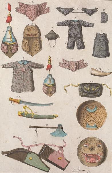 Le Costume Ancien et Moderne [Asie] Vol. 1 - Habits, armes, etc (1815)