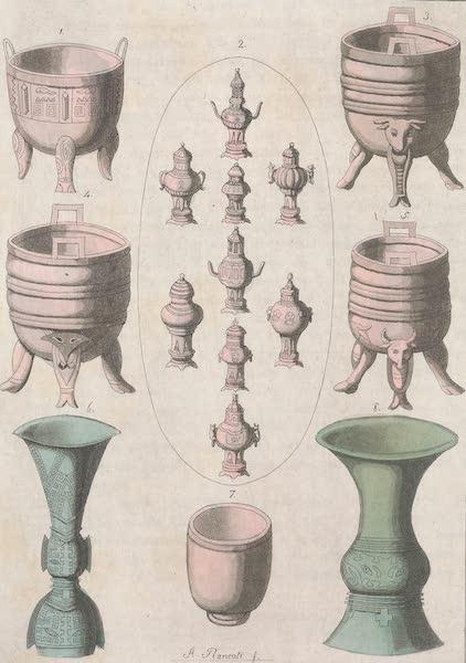 Le Costume Ancien et Moderne [Asie] Vol. 1 - Vases ou Ting (1815)