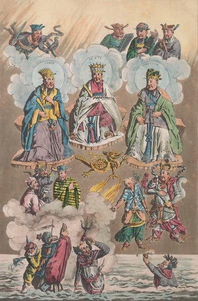 Le Costume Ancien et Moderne [Asie] Vol. 1 - Dieux divises en trois classes (1815)