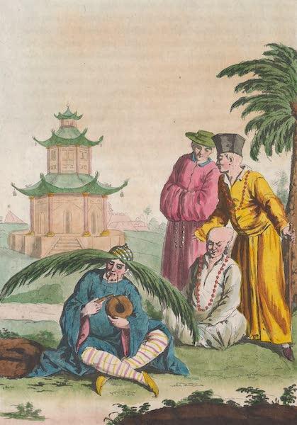 Le Costume Ancien et Moderne [Asie] Vol. 1 - Bonzes (1815)