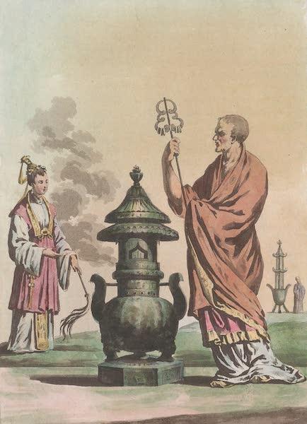 Le Costume Ancien et Moderne [Asie] Vol. 1 - Bonze, Bonzesse (1815)