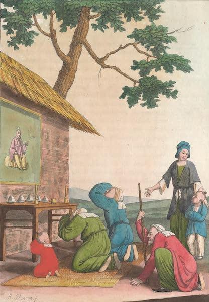Le Costume Ancien et Moderne [Asie] Vol. 1 - Chapelle dans les campagnes (1815)