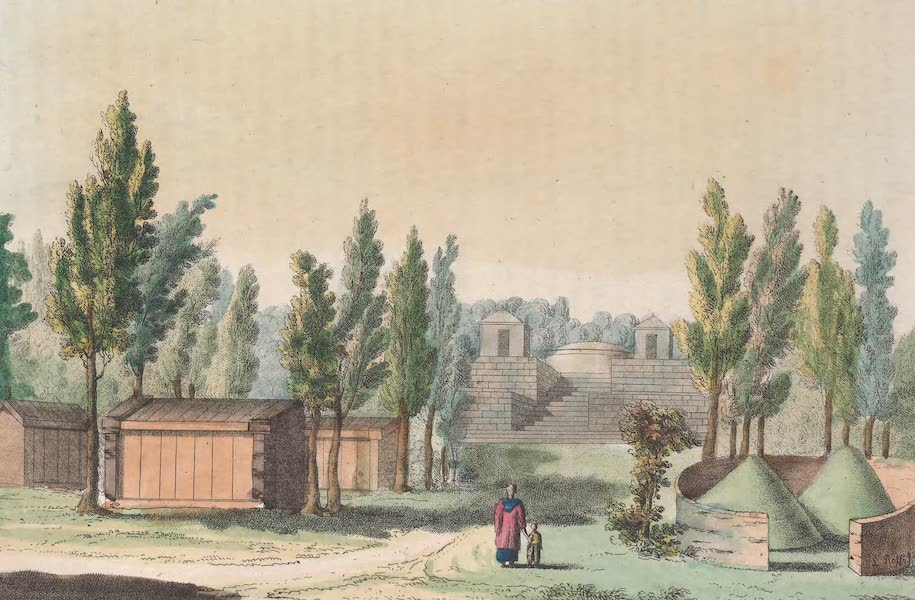 Le Costume Ancien et Moderne [Asie] Vol. 1 - Sepulcres (1815)