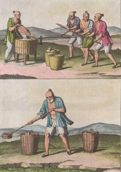 Le Costume Ancien et Moderne [Asie] Vol. 1 - Machines pour arroser les terres [I] (1815)