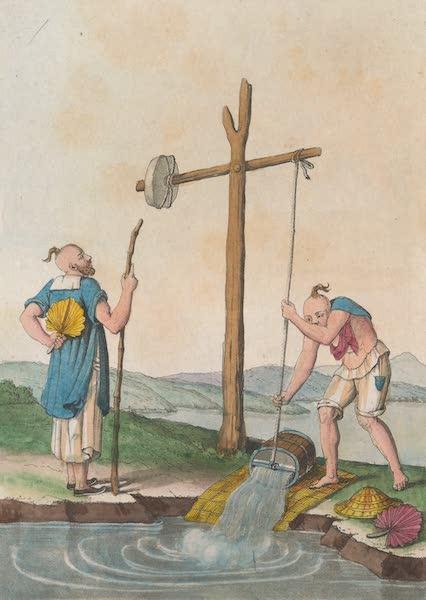 Le Costume Ancien et Moderne [Asie] Vol. 1 - Machines pour arroser les terres [II] (1815)