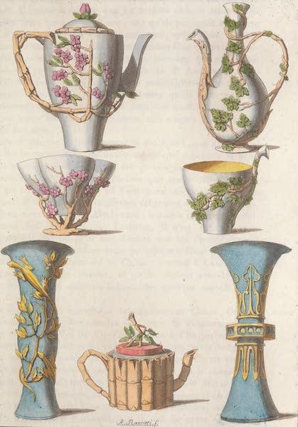 Le Costume Ancien et Moderne [Asie] Vol. 1 - Vases de poercellaine (1815)