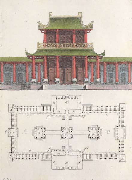 Le Costume Ancien et Moderne [Asie] Vol. 1 - Pagode de Ho-Nang (1815)
