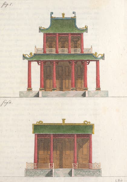 Le Costume Ancien et Moderne [Asie] Vol. 1 - Petits temples (1815)