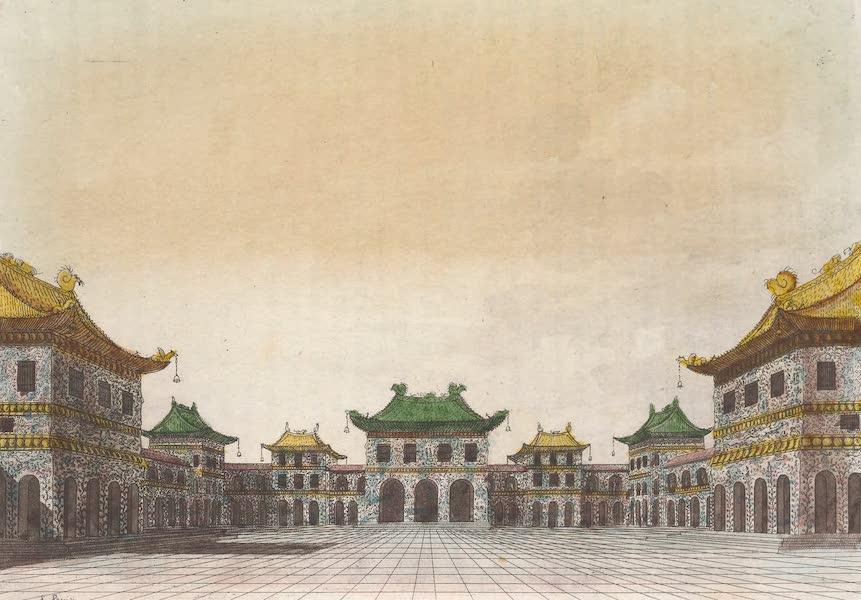 Le Costume Ancien et Moderne [Asie] Vol. 1 - Cour de la salle d'audience (1815)