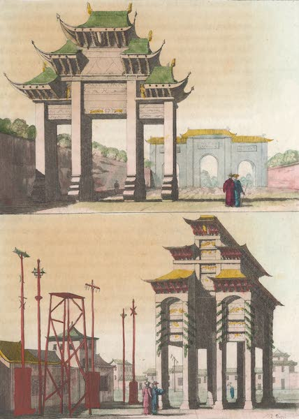 Le Costume Ancien et Moderne [Asie] Vol. 1 - Arcs de triomphe (1815)