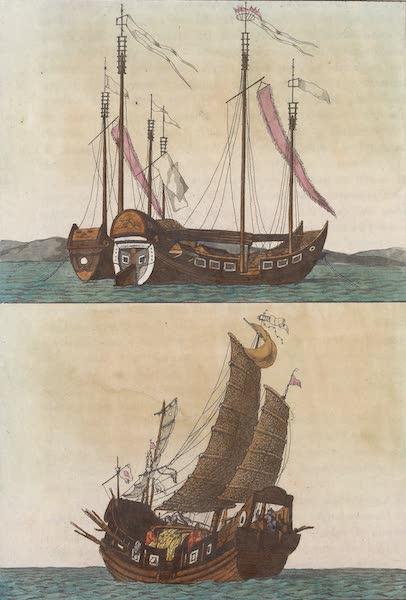 Le Costume Ancien et Moderne [Asie] Vol. 1 - Jonques (1815)