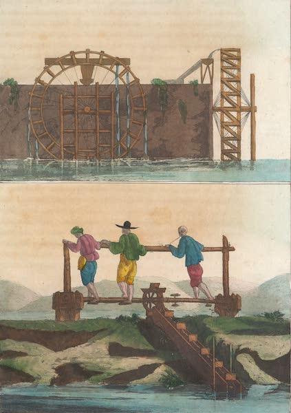 Le Costume Ancien et Moderne [Asie] Vol. 1 - Machines hydrauliques (1815)