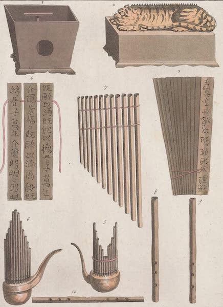 Le Costume Ancien et Moderne [Asie] Vol. 1 - Instrumens de musique [II] (1815)