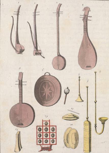 Le Costume Ancien et Moderne [Asie] Vol. 1 - Instrumens de musique [III] (1815)