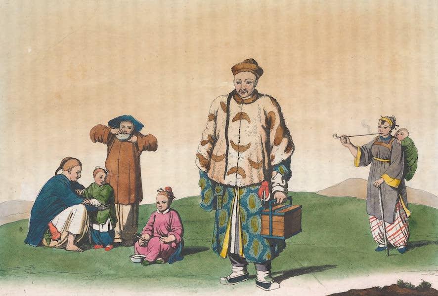 Le Costume Ancien et Moderne [Asie] Vol. 1 - Habits des citoyens et des paysans (1815)
