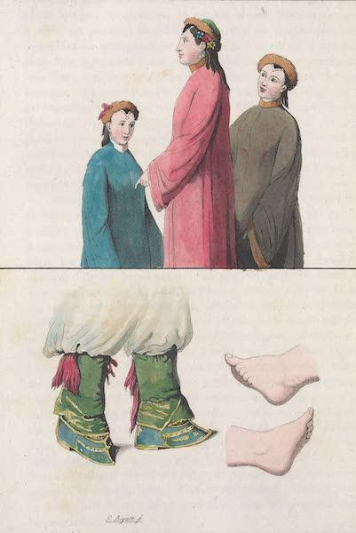 Le Costume Ancien et Moderne [Asie] Vol. 1 - Habillement des femmes (1815)