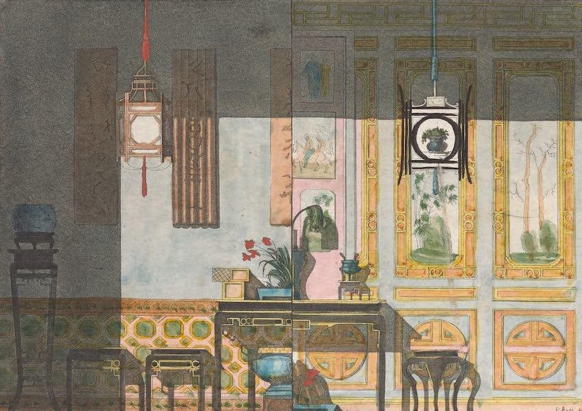 Le Costume Ancien et Moderne [Asie] Vol. 1 - Maisons et moeubles (1815)