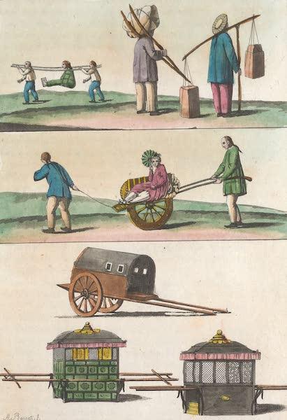 Le Costume Ancien et Moderne [Asie] Vol. 1 - Voitures, palankins etc (1815)