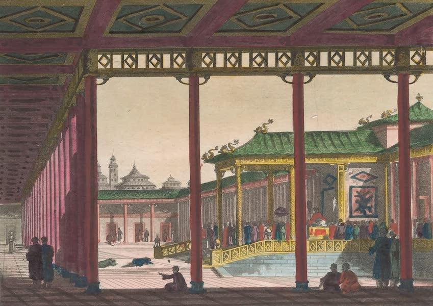Le Costume Ancien et Moderne [Asie] Vol. 1 - Trone de l'Empereur du Japon (1815)