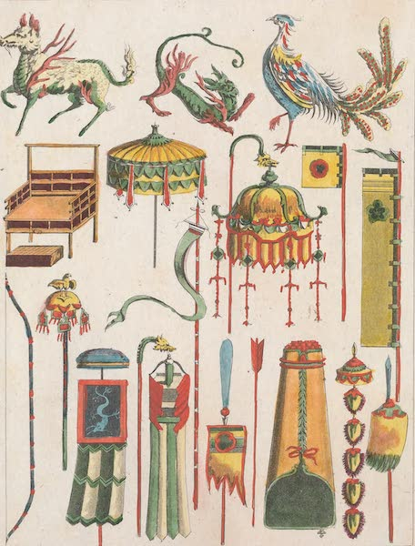 Le Costume Ancien et Moderne [Asie] Vol. 1 - Enseignes, emblemes etc (1815)