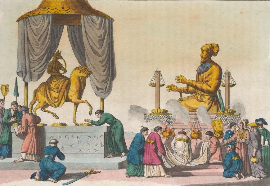 Le Costume Ancien et Moderne [Asie] Vol. 1 - Amida et Xaca (1815)