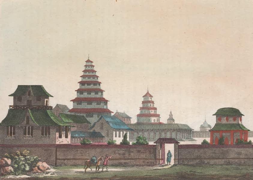 Le Costume Ancien et Moderne [Asie] Vol. 1 - Temple de Daibods (1815)