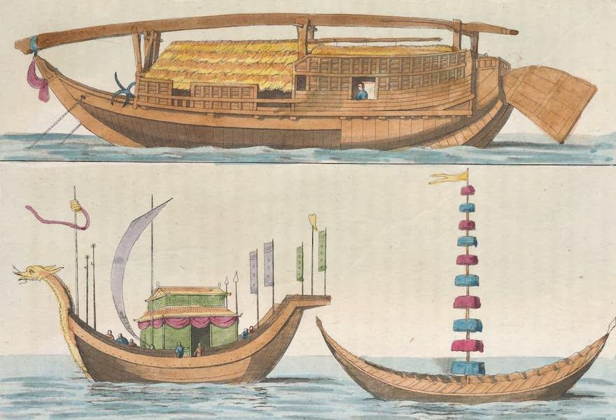 Le Costume Ancien et Moderne [Asie] Vol. 1 - Navires, bateaux (1815)