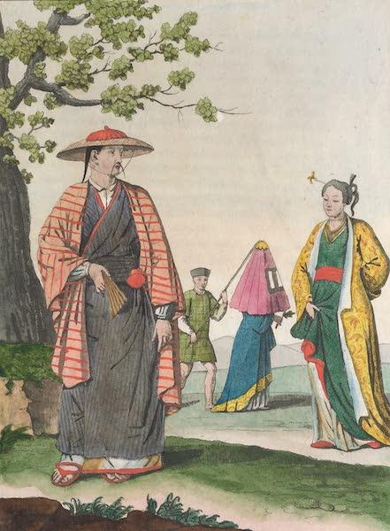 Le Costume Ancien et Moderne [Asie] Vol. 1 - Habillement des Japonais (1815)