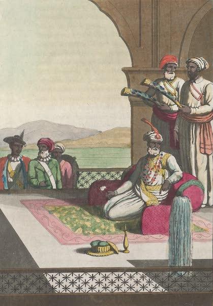 Le Costume Ancien et Moderne [Asie] Vol. 2 - Habillement du Rajah de Tanjaour (1817)