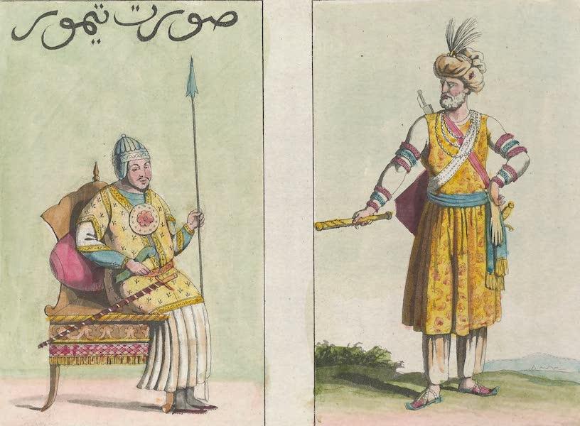 Le Costume Ancien et Moderne [Asie] Vol. 2 - Portrait antique de Tamerlan, le Grand Mogol (1817)