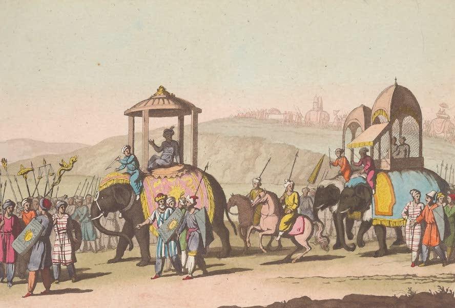 Le Costume Ancien et Moderne [Asie] Vol. 2 - Cortege du Grand Mogol lorsu'il sortait (1817)