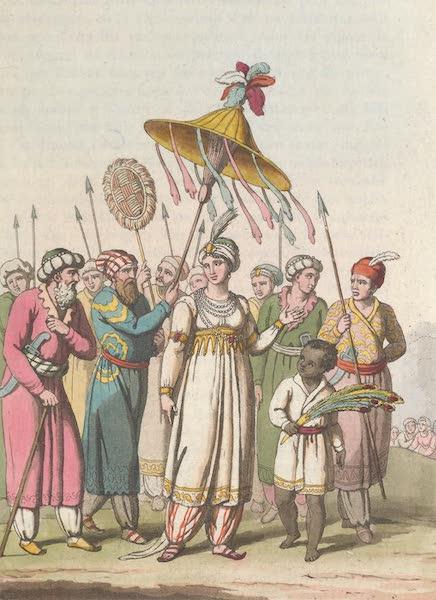 Le Costume Ancien et Moderne [Asie] Vol. 2 - La Princesse Rauchenara-Begoum (1817)