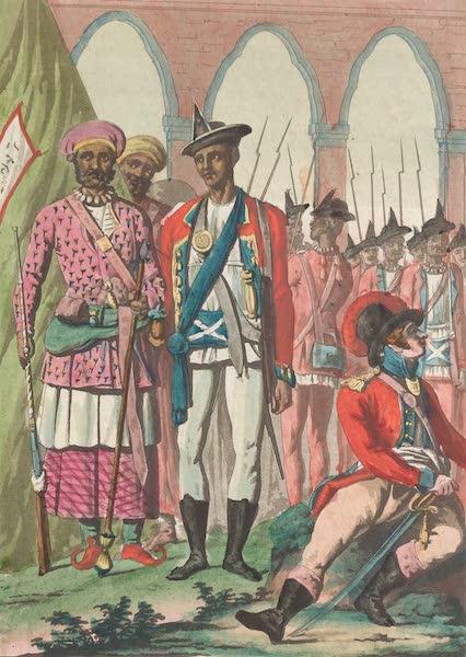 Le Costume Ancien et Moderne [Asie] Vol. 2 - Rajepoutes, Rahouts, Bridgibases etc (1817)