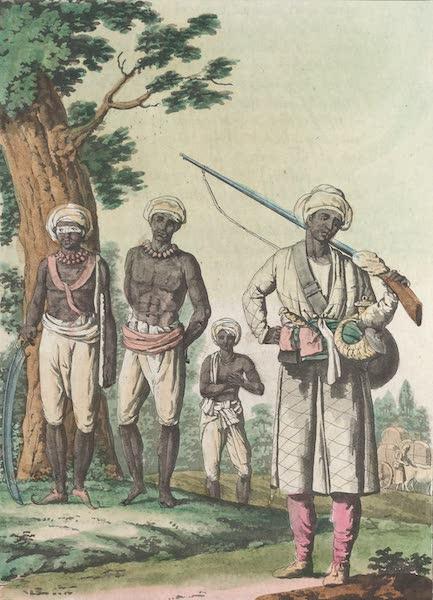 Le Costume Ancien et Moderne [Asie] Vol. 2 - Les Cipayes (1817)