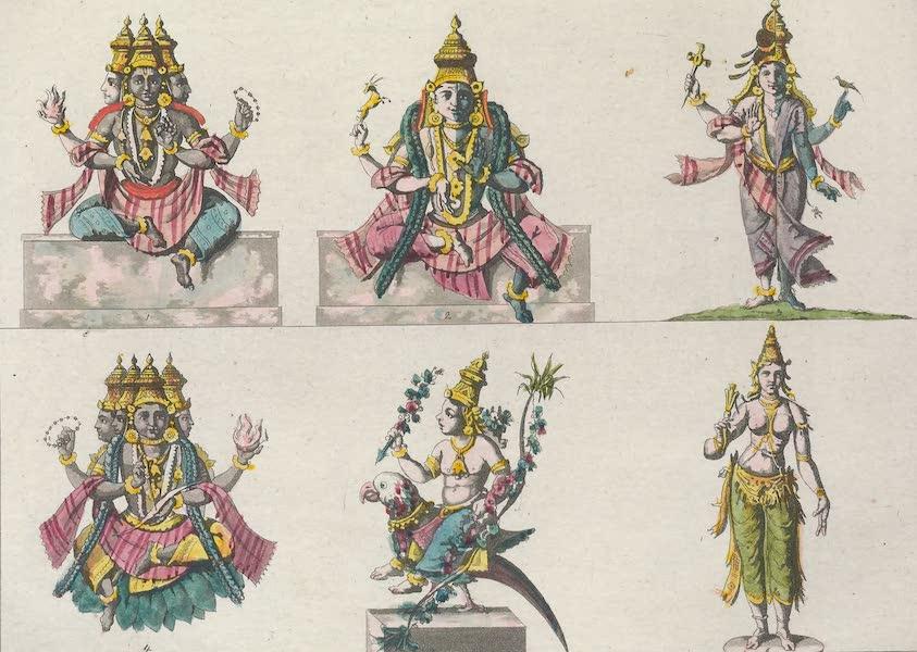Le Costume Ancien et Moderne [Asie] Vol. 2 - Les six premieres incarnations de Visnou (1817)