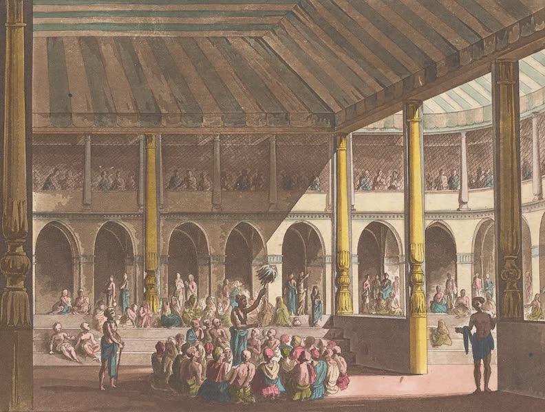 Le Costume Ancien et Moderne [Asie] Vol. 2 - Les Brames chantent les actions glorieuses du Dieu Rama (1817)