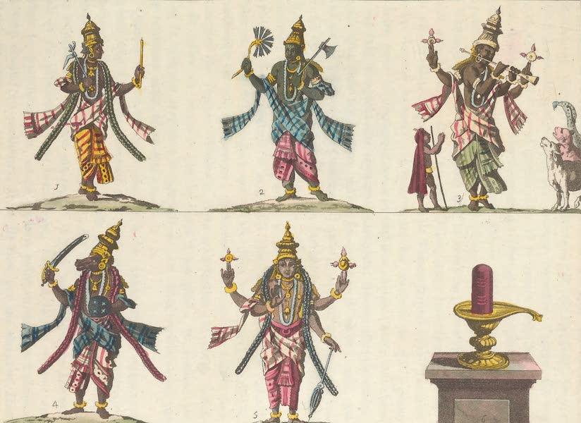 Le Costume Ancien et Moderne [Asie] Vol. 2 - Les autres incarnations de Visnou (1817)