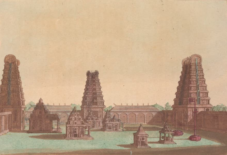 Le Costume Ancien et Moderne [Asie] Vol. 2 - Pagode de l'Inde (1817)