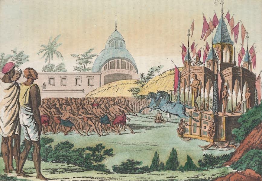 Le Costume Ancien et Moderne [Asie] Vol. 2 - Description de la fete de la dedicace du temple appelee Tirounal (1817)
