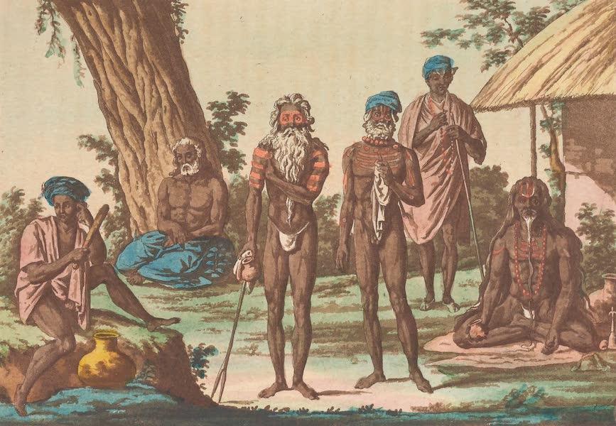 Le Costume Ancien et Moderne [Asie] Vol. 2 - Fakirs devots (1817)