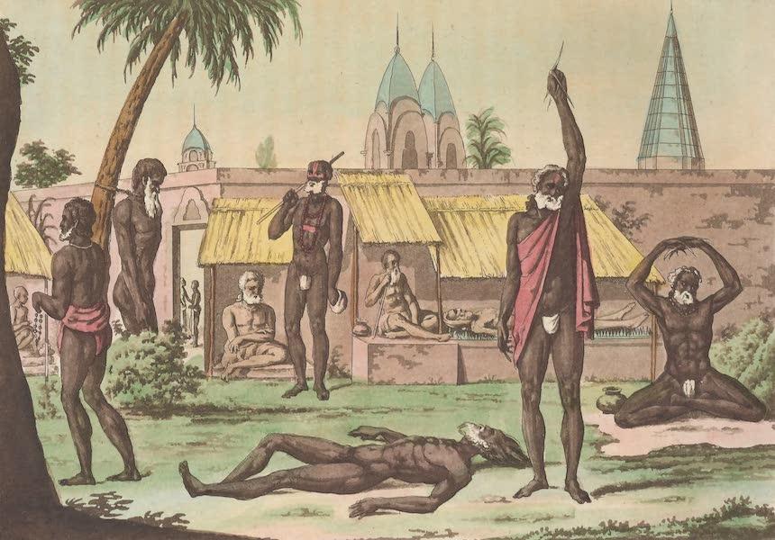 Le Costume Ancien et Moderne [Asie] Vol. 2 - Fakirs penitens (1817)